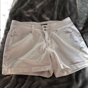 Women's White Shorts